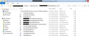 Multiple Office AddIn3